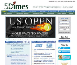 5Dimes Sportsbook Review - Summary Of The 5Dimes Sports